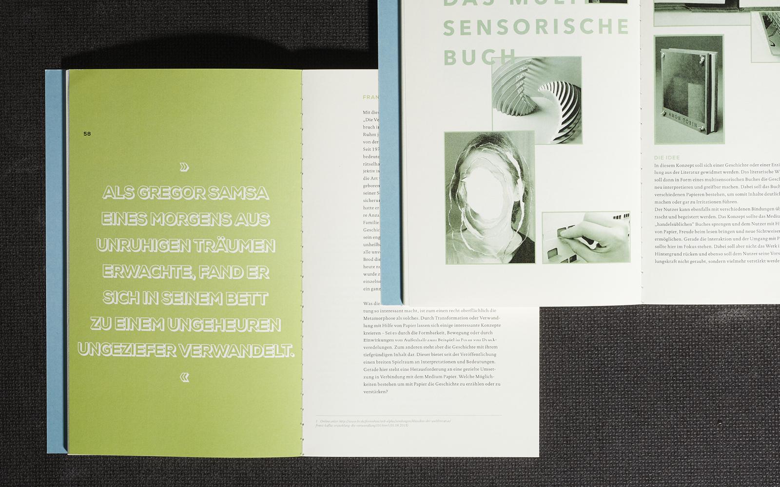 Papier als multisensorisches Medium